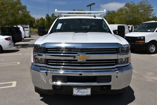 2018 Silverado 2500 Double Cab 4x2,  Royal Service Body Utility #M18483 - photo 4