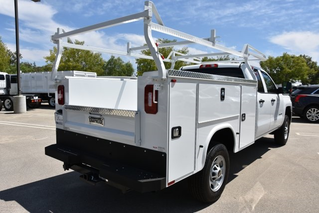 2018 Silverado 2500 Double Cab 4x2,  Royal Service Body Utility #M18483 - photo 2