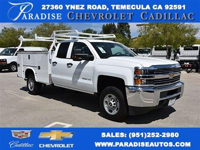 2018 Silverado 2500 Double Cab 4x2,  Royal Service Body Utility #M18483 - photo 1