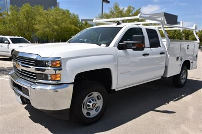 2018 Silverado 2500 Double Cab 4x2,  Royal Service Body Utility #M18483 - photo 5
