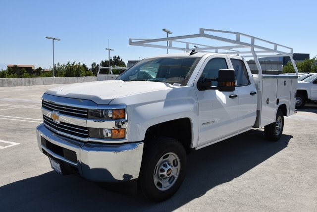 2018 Silverado 2500 Double Cab 4x2,  Harbor Utility #M18507 - photo 5