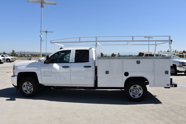 2018 Silverado 2500 Double Cab 4x2,  Harbor Utility #M18507 - photo 6