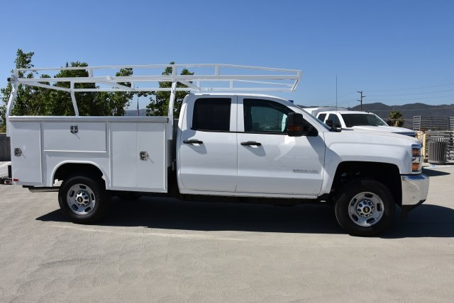 2018 Silverado 2500 Double Cab 4x2,  Harbor Utility #M18507 - photo 9