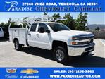 2018 Silverado 2500 Double Cab 4x2,  Harbor Utility #M18507 - photo 1