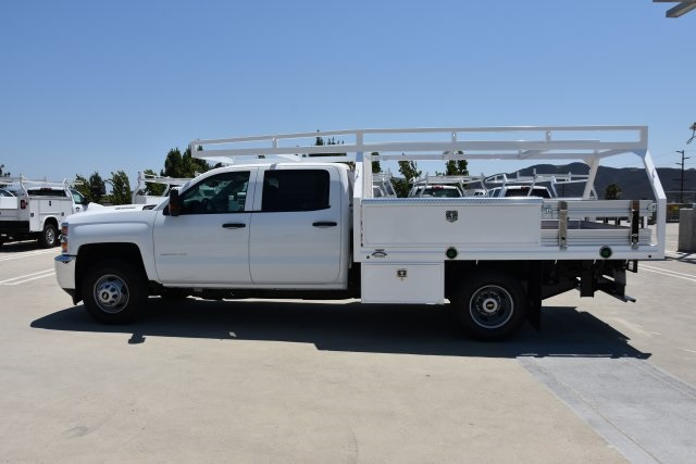 2018 Silverado 3500 Crew Cab DRW 4x2,  Martin's Quality Truck Body, Inc. Contractor Body #M18510 - photo 6