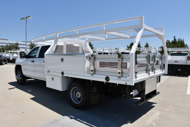 2018 Silverado 3500 Crew Cab DRW 4x2,  Martin's Quality Truck Body, Inc. Contractor Body #M18510 - photo 7