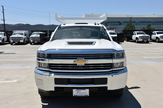 2018 Silverado 3500 Crew Cab DRW 4x2,  Martin's Quality Truck Body Contractor Body #M18524 - photo 4