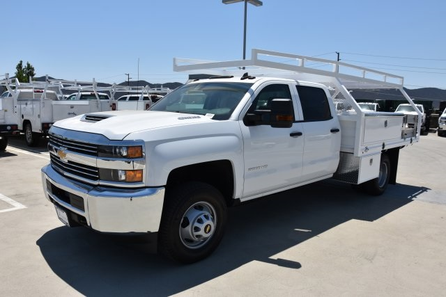2018 Silverado 3500 Crew Cab DRW 4x2,  Martin's Quality Truck Body, Inc. Contractor Body #M18524 - photo 5