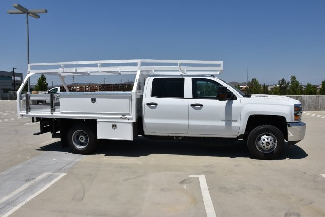 2018 Silverado 3500 Crew Cab DRW 4x2,  Martin's Quality Truck Body, Inc. Contractor Body #M18524 - photo 9