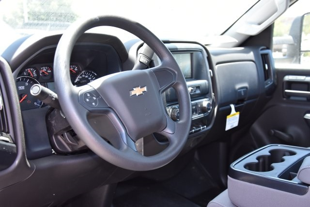 2018 Silverado 3500 Regular Cab DRW 4x2,  Harbor Contractor Body #M18526 - photo 16