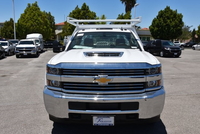 2018 Silverado 3500 Regular Cab DRW 4x2,  Harbor Contractor Body #M18526 - photo 4
