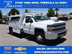 2018 Silverado 3500 Regular Cab DRW 4x2,  Harbor Contractor Body #M18526 - photo 1