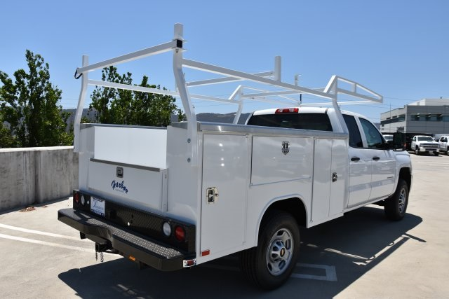 2018 Silverado 2500 Double Cab 4x2,  Harbor TradeMaster Utility #M18543 - photo 2
