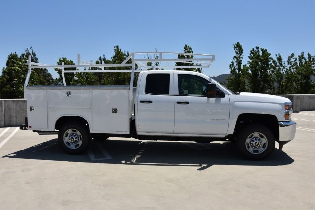 2018 Silverado 2500 Double Cab 4x2,  Harbor TradeMaster Utility #M18543 - photo 9