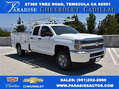 2018 Silverado 2500 Double Cab 4x2,  Harbor TradeMaster Utility #M18543 - photo 1