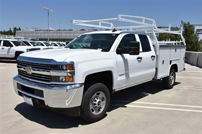 2018 Silverado 2500 Double Cab 4x2,  Harbor TradeMaster Utility #M18543 - photo 5