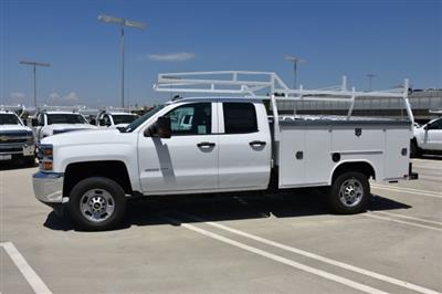 2018 Silverado 2500 Double Cab 4x2,  Harbor TradeMaster Utility #M18543 - photo 6