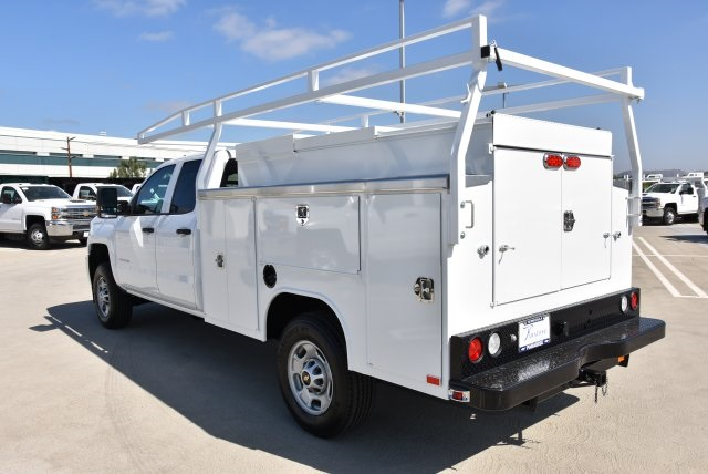 2018 Silverado 2500 Double Cab 4x2,  Harbor TradeMaster Utility #M18546 - photo 7