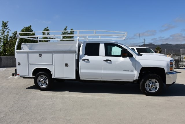 2018 Silverado 2500 Double Cab 4x2,  Harbor TradeMaster Utility #M18546 - photo 9