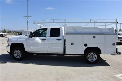 2018 Silverado 2500 Double Cab 4x2,  Harbor TradeMaster Utility #M18546 - photo 6
