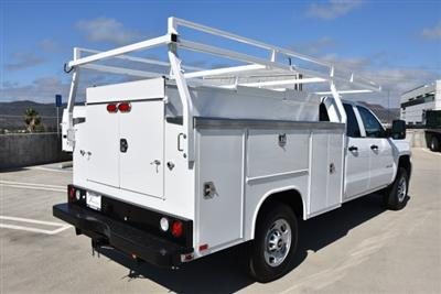 2018 Silverado 2500 Double Cab 4x2,  Harbor TradeMaster Utility #M18546 - photo 2