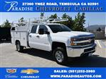 2018 Silverado 2500 Double Cab 4x2,  Harbor TradeMaster Utility #M18546 - photo 1