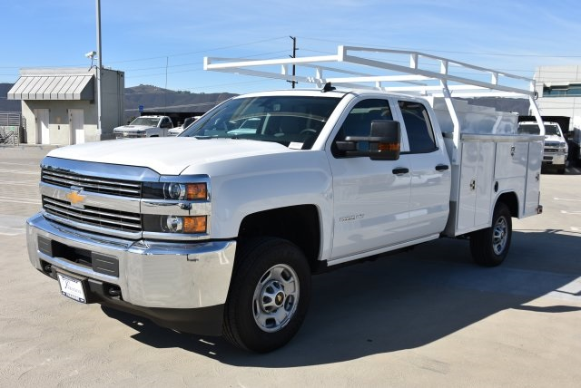 2018 Silverado 2500 Double Cab 4x2,  Harbor Utility #M18561 - photo 5