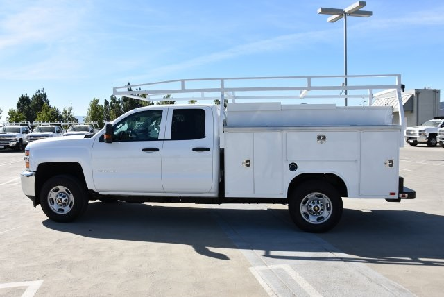 2018 Silverado 2500 Double Cab 4x2,  Harbor Utility #M18561 - photo 6