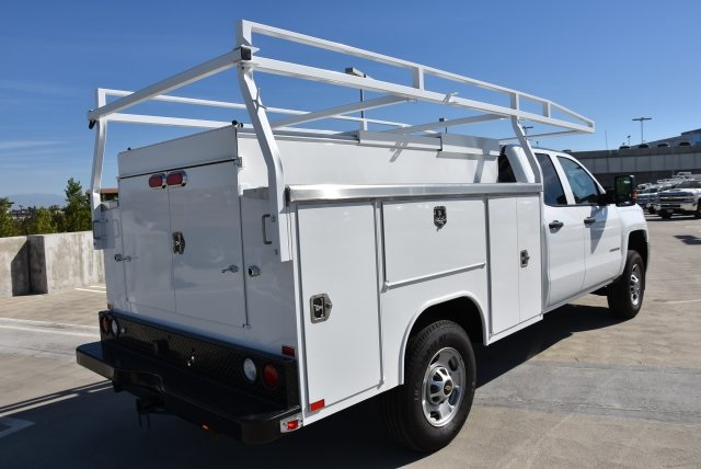 2018 Silverado 2500 Double Cab 4x2,  Harbor Utility #M18561 - photo 2