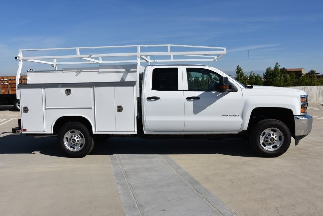 2018 Silverado 2500 Double Cab 4x2,  Harbor Utility #M18561 - photo 9