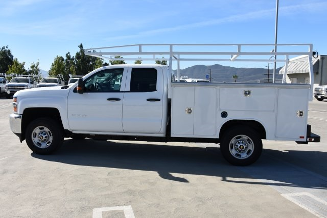 2018 Silverado 2500 Double Cab 4x2,  Harbor Utility #M18576 - photo 4