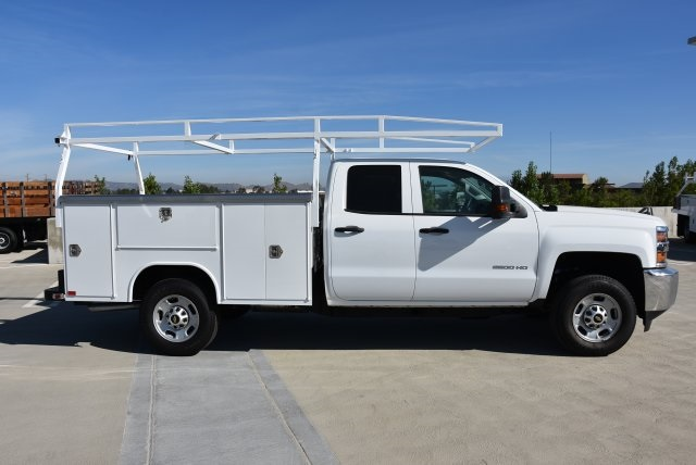 2018 Silverado 2500 Double Cab 4x2,  Harbor Utility #M18576 - photo 7