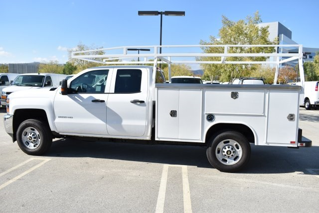 2018 Silverado 2500 Double Cab 4x2,  Harbor Utility #M18589 - photo 6