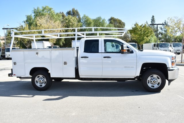 2018 Silverado 2500 Double Cab 4x2,  Harbor Utility #M18589 - photo 9