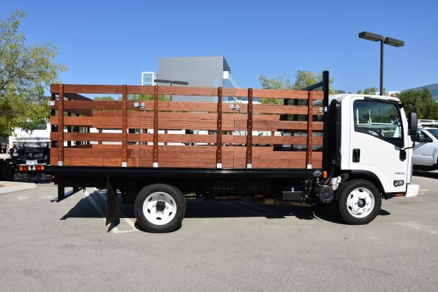 2018 LCF 4500 Regular Cab 4x2,  Martin's Quality Truck Body, Inc. Flat/Stake Bed #M18618 - photo 9