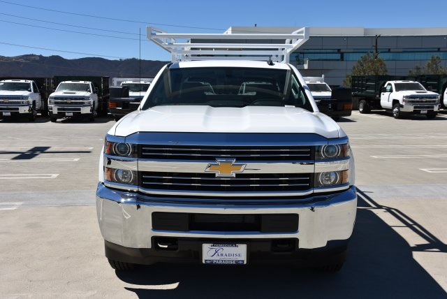 2018 Silverado 2500 Double Cab 4x2,  Harbor Utility #M18639 - photo 4
