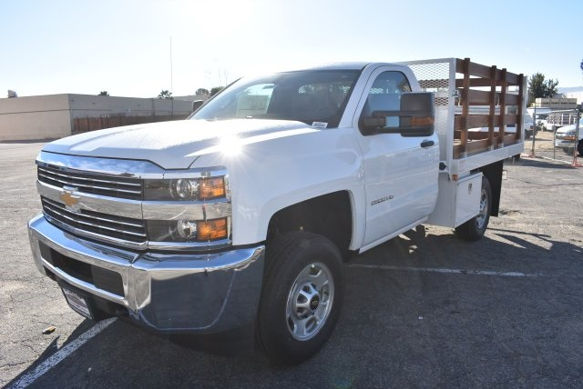 2018 Silverado 2500 Regular Cab 4x2,  Industrial Truck Beds Flat/Stake Bed #M18641 - photo 5