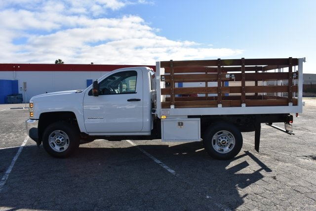 2018 Silverado 2500 Regular Cab 4x2,  Industrial Truck Beds Flat/Stake Bed #M18641 - photo 6
