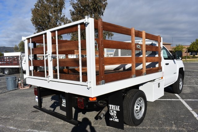 2018 Silverado 2500 Regular Cab 4x2,  Industrial Truck Beds Flat/Stake Bed #M18641 - photo 2