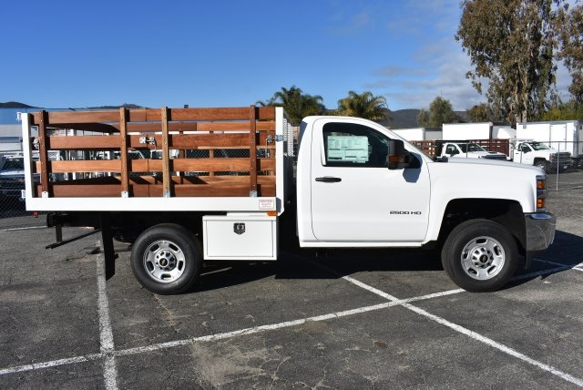 2018 Silverado 2500 Regular Cab 4x2,  Industrial Truck Beds Flat/Stake Bed #M18641 - photo 9