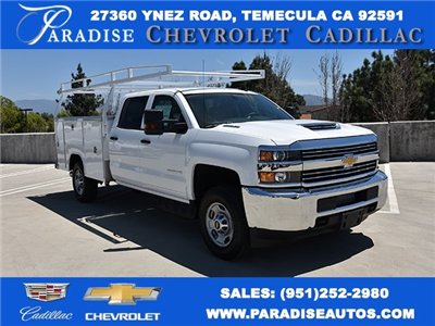 2018 Silverado 2500 Crew Cab,  Harbor TradeMaster Utility #M18655 - photo 1
