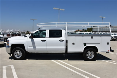 2018 Silverado 2500 Crew Cab,  Harbor TradeMaster Utility #M18655 - photo 6