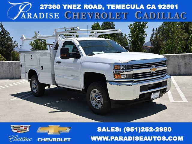 2018 Silverado 2500 Regular Cab 4x2,  Knapheide Standard Service Body Utility #M18672 - photo 1