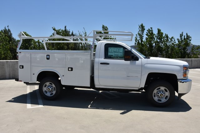 2018 Silverado 2500 Regular Cab 4x2,  Cab Chassis #M18672 - photo 9