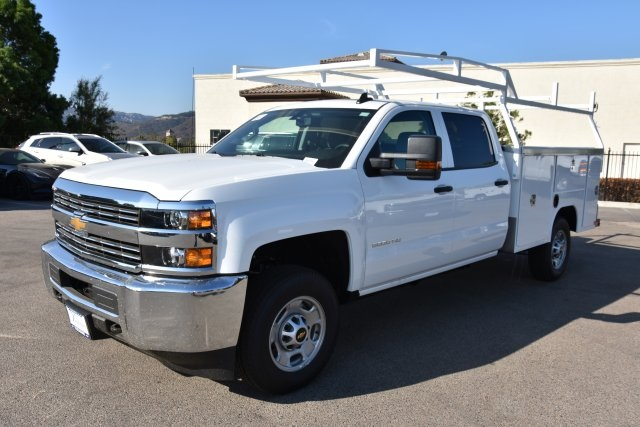 2018 Silverado 2500 Crew Cab 4x2,  Harbor Utility #M18679 - photo 5