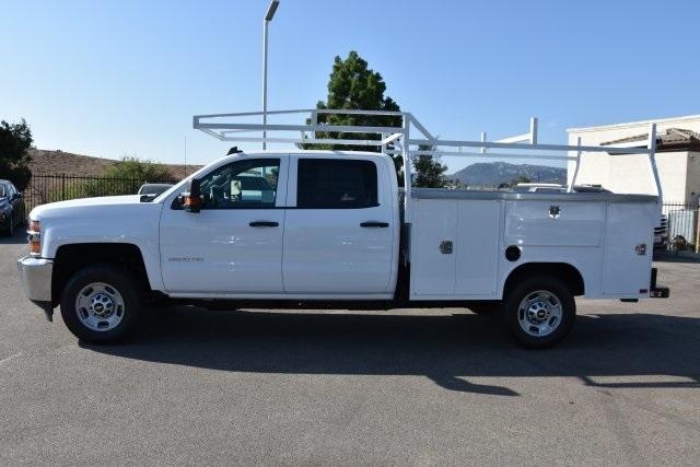 2018 Silverado 2500 Crew Cab 4x2,  Harbor Utility #M18679 - photo 6