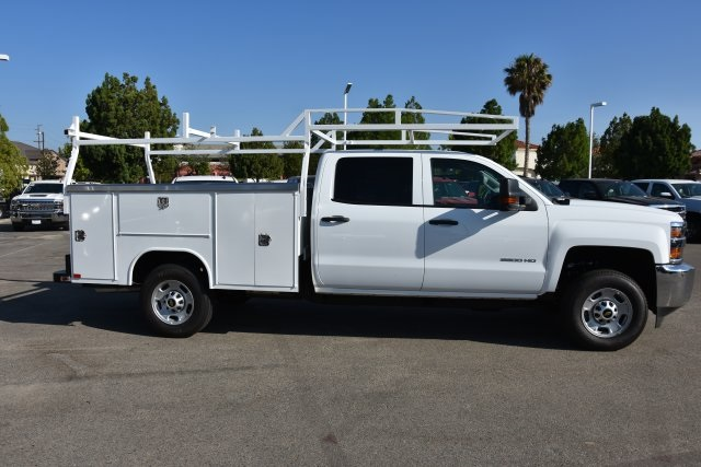 2018 Silverado 2500 Crew Cab 4x2,  Harbor Utility #M18679 - photo 9