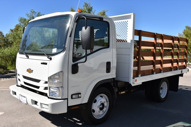 2018 LCF 4500 Regular Cab,  Abacor Inc Flat/Stake Bed #M18720 - photo 5