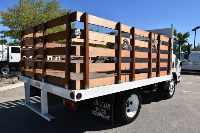 2018 LCF 4500 Regular Cab,  Abacor Inc Flat/Stake Bed #M18720 - photo 2