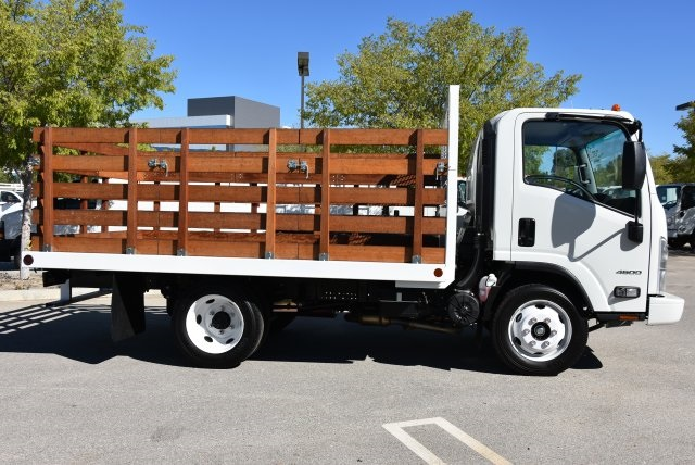 2018 LCF 4500 Regular Cab,  Abacor Inc Flat/Stake Bed #M18720 - photo 9